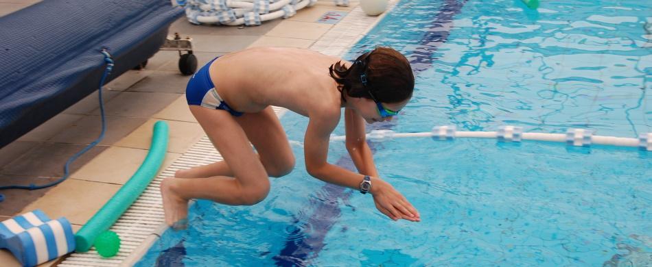 כללי בטיחות למדריכי שחייה - קפיצה למים